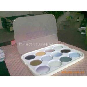 供应广州有机玻璃加工镜片展示盒