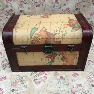 复古木箱 做旧木箱子 橱窗道具茶几箱 箱子批发来样定制 厂家直销
