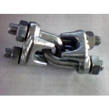 供应推出:脚手架用钢丝绳夹|M12建筑外架钢丝绳夹|废旧钢丝绳夹