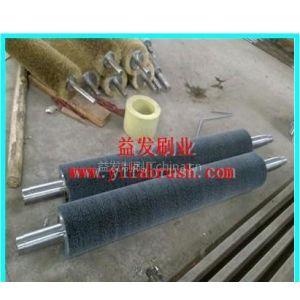 供应供应牛仔布马骝机碳化硅抛光刷,杜邦丝刷滚