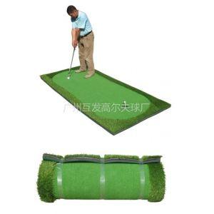 正品 新款 室内高尔夫 仿真迷你果岭 推杆练习器 便携练习毯
