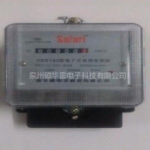 供应单相电子式电能表 生产电度表 电子表电表 硕华雷电能表