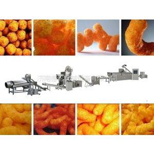 油炸休闲食品生产线 休闲食品加工设备 膨化机厂家