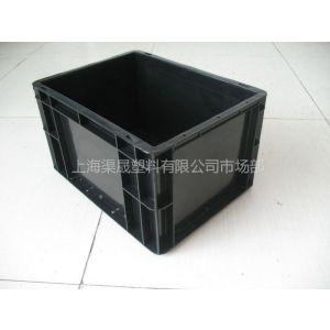 供应上海塑料物流箱 上海防静电周转箱 江苏静电物流箱