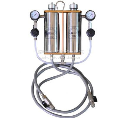 广东双吊瓶免拆清洗机 燃油清洗吊瓶 有效消除节气门喷油嘴沉积物 汽保设备