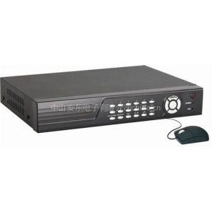 供应H264 8路硬盘录像机 全实时监控手机监看带网络 双流码 录像一体机