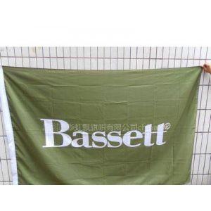 定做:各国公司旗,数码印旗帜.bassett公司旗
