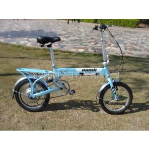 供应携带上公交、地铁铝合金轻便式折叠电动自行车