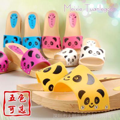 家居拖鞋女 时尚韩版卡通女士拖鞋家居平跟女式凉拖品牌拖鞋批发