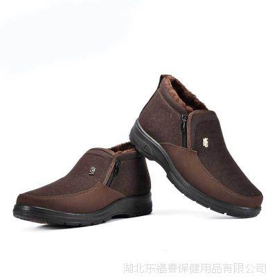 厂家直销正品老北京棉鞋男款 加厚加密短毛绒 保暖透气舒适棉靴