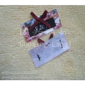 供应按客户需要 不限量订做韩版女装领标 女装织唛  品质保证