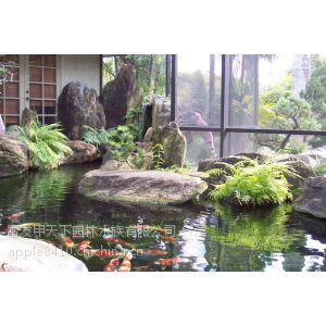 供应西安市景观鱼池生物净化过滤箱(一体化设备系统)