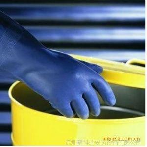 供应sperian手套巴固2095025防化手套 氯丁橡胶防化长手套 手部防护