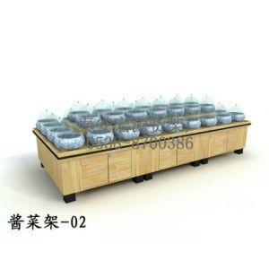 供应超市木制货架 干货架 求购酱菜架 糖果架价格