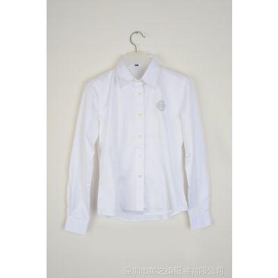 厂家直销现货批发女士衬衣 白衬衣 职业衬衣 特价促销 一件代发