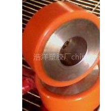 供应供应聚氨酯包胶钢芯轮,叉车轮,AGV车驱动轮,牵引车胶轮
