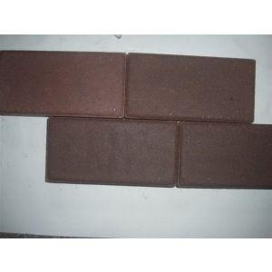 供应山东咖啡色烧结砖陶土砖透水砖