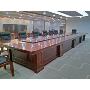 供应大型实木会议桌定做