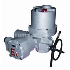 供应扬修电力整体调节部分回转隔爆型阀门电动装置