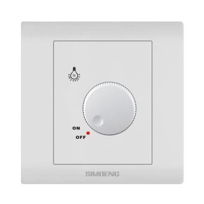 供应simioeng防水阻燃墙壁开关 调速调光开关