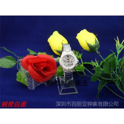 正品LSIQI韩版时尚休闲女士手表六针连动进口石英表5512