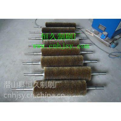 供应拉丝机钢丝刷加工 地板拉丝机钢丝辊