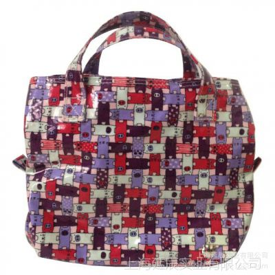 专业生产加工细棉布复合pvc材质的各式手提包,单肩包,旅行包