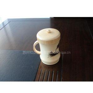 供应竹制品(水杯-烙画)