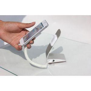 供应手机防盗报警器批发,三星手机防盗展示架,带充电报警功能!