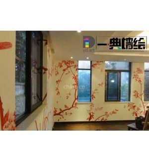 供应福州墙绘高档壁画 幼儿园喷绘酒店会所背景墙福州一典墙绘公司