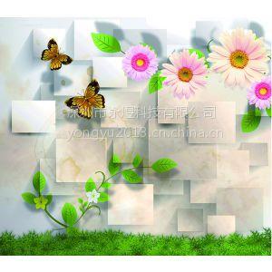 供应个性背景墙生产厂家 品牌家具家私加盟店LOGE墙纸壁画定制