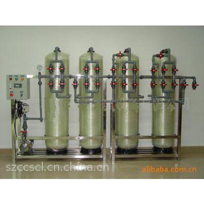 全自动软化水设备 4吨锅炉软化设备 离子交换设备 离子交换器