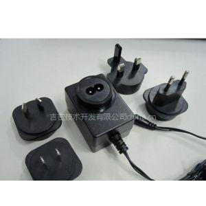 供应可拆卸插头电源适配器 12W-15W