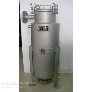 供应上海楚能保温夹套多型号袋式过滤器