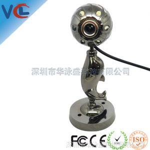 供应热销推荐 银色免驱摄像头 高清电脑摄像头 不带麦克风摄像头