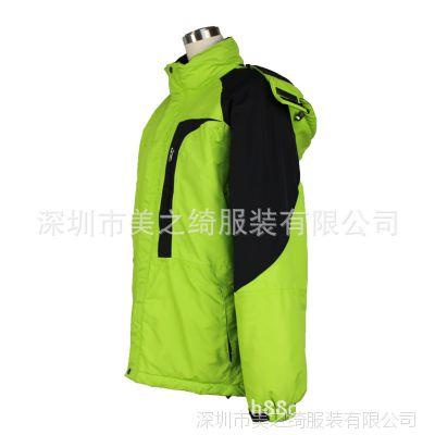 厂家直销定做女式两件套冲锋衣、订做户外冲锋衣、登山滑雪服定制