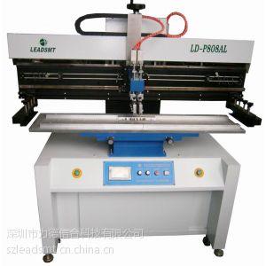 供应1.2米LED灯条半自动锡膏印刷机