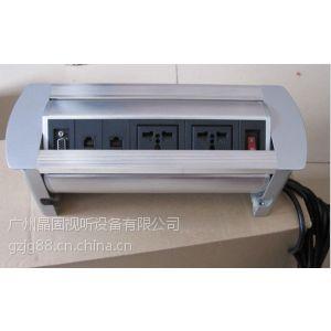 供应供应多功能桌面手动翻转插座插座/桌面插座/会议插座