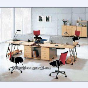 供应东圃家具厂定做时尚办公桌 职员办公桌 办公电脑台