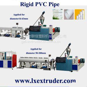 供应双螺杆管材挤出机 PVC管材生产线 广州塑机厂家塑机价格