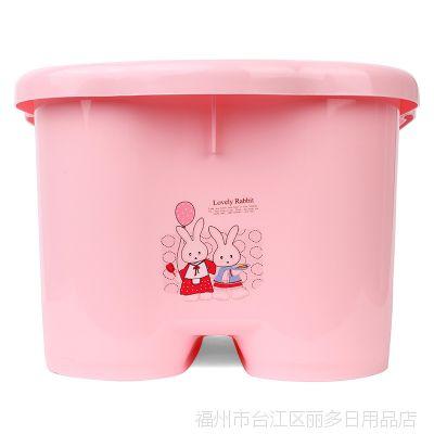 淞泰脚底滚轮按摩颗粒泡脚桶 家用休闲洗脚盆 高质量塑料足浴盆