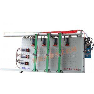 供应木工机械-MH2325AY单面液压带孔组装机