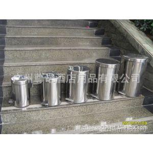 供应番禺垃圾桶厂家 JZG-03 家用不锈钢脚踏垃圾桶 可选方形/圆形