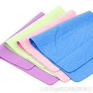 创点厂家现货 多用途仿鹿皮巾 擦车巾 吸水毛巾 简装 30*40cm 80g