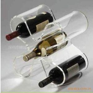 供应有机玻璃红酒展示架