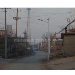 供应明光新农村安装了太阳能路灯