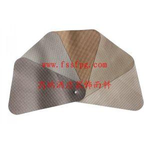 供应2012 吴江面料白色皮革花纹人造革软包型材止