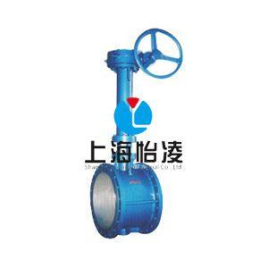 供应中国泵阀|上海阀门厂家D343H加长杆硬密封蝶阀|上海怡凌