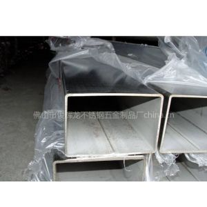供应304砂光方管,拉丝不锈钢方管方通