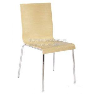 供应东莞曲木椅 不锈钢曲木 椅 电镀曲木 椅 喷塑曲木椅 餐椅 快餐椅